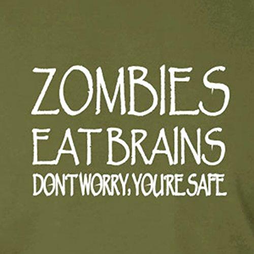 Zombies eat Brains - Damen T-Shirt Hellgrün
