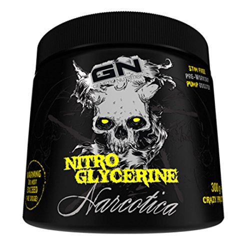 GN Laboratories Narcotica Nitro Glycerine - 300g, Crazy Fruits