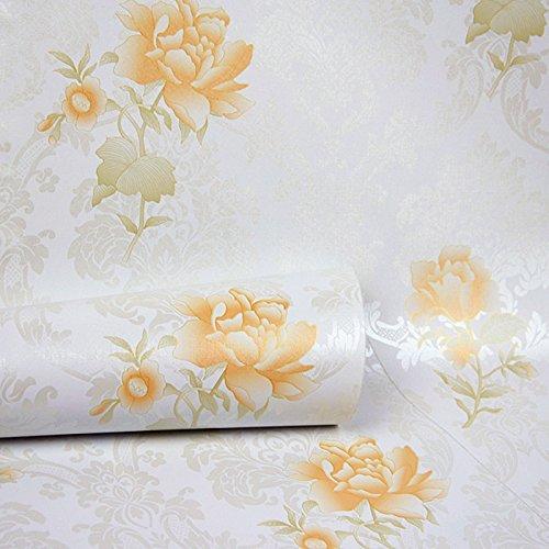 Zhzhco Pvc Wasserdichte Selbstklebende Tapete Wohnzimmer Schlafzimmer Wand Aufkleber Tapete 45 Cm Breit * 10 M Lang,C