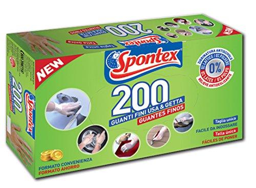 Spontex Boîte de 200 gants fins