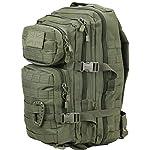 Kombat Molle Assault Unisex Outdoor Camping Backpack