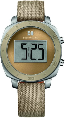Hugo Boss Women's Quartz Watch Analogue Display and Nylon Strap 1502292