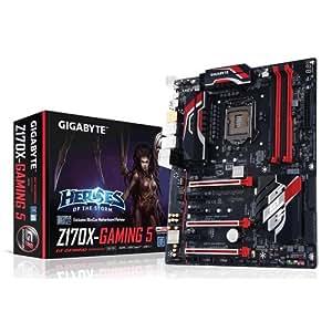 Gigabyte GA-Z170X-Gaming 5-EU Scheda Madre, Nero/Rosso