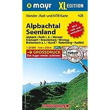 Alpbachtal - Seenland XL: Wander-, Rad- und Mountainbikekarte. GPS-genau. 1:25000 (Mayr Wanderkarten)