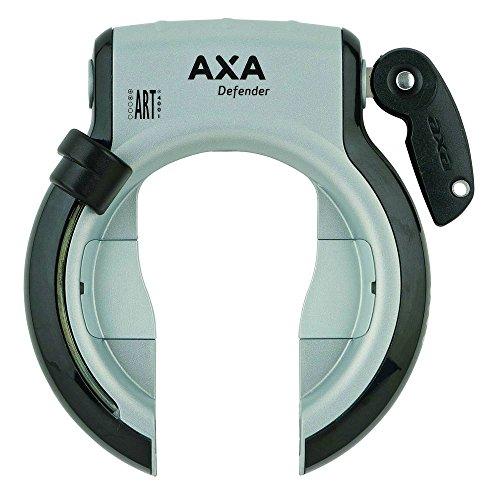AXA 1X Rahmenschloss Defender, Schwarz, 4,3x16x22 cm