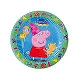 Peppa Pig - Set de 8 platos, 18 cm (Verbetena 5652221)