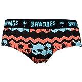 Bawbags Women/'s Rainbaw Cotton Underwear