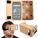 DURAGADGET Gafas de Realidad Virtual VR para Smartphone Archos 50 Saphir | 50f Helium (Lite) | 55 Diamond Selfie (Lite) | 55 Helium 4 Seasons, Ultra, Helium, Platinum | 55b