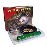 auspilybiber Set di Ruote per Roulette per Feste Poker Chips Fun Leisure Entertainment Giochi da Tavolo per Adulti Bambini Modern Fabulous