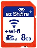 Ez Share Wifi Sd Memory Card 8GB Class 10 New New Inc? 2nd Generation