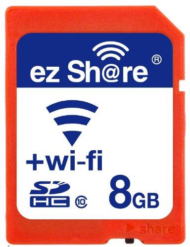 EZ Teilen WiFi SD Speicherkarte 8GB Class 10NEU NEU INC? 2nd Generation