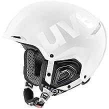 Uvex jakk + Octo + Casco de esquí, Unisex, Color White Mat-Shiny