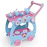 #1018 Disney Frozen Servierwagen mit Zubehör • Puppengeschirr Puppenservice Tablett Teewagen Die Eiskönigin Kinder Spielzeug Set