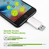 [Apple MFI Certified] OMARS® Irisation USB Flash Drive 32GB with Lightning Connector Memory Expansion for Apple iPhone iPod iPad Computer Mac Laptop PC