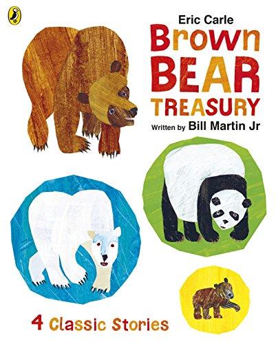 Eric Carle Brown Bear Treasury (Brown Bear Brown Bear Buch)