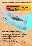 Strandtuchhalter Beacher mit Sand- und Windschutz 7-teilig - bekannt aus dem TV