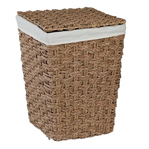 CreativeWare Chunky Weave 2-Hamper, Natural by CreativeWare (Weave Hamper)