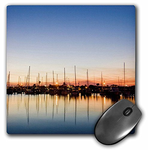 danita-delimont-harbors-rockport-texas-harbor-at-sunset-usa-us44-ldi0687-larry-ditto-mousepad-mp-146