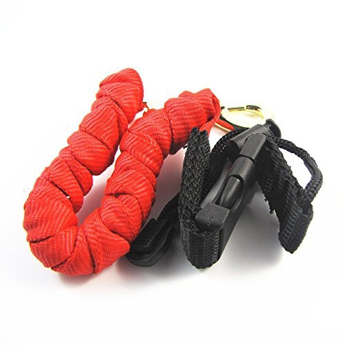 Descripción   Un amortiguador auxiliar interna está revestida de alta resistencia alta a través de cinta tubular de color rojo.   Las correas no son una sola cadena corta, que se tejen en un súper fuerte y atractivo Cobra de la armadura a alrededor d...