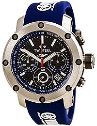 TW Steel Unisex Reloj de pulsera Tech Yamaha analógico de cuarzo caucho TW de 924