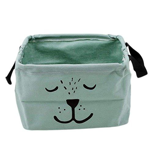 Cartoon Make-up Tasche Spielzeug Ablagebox Praktische Aufbewahrungsbox Korb Kosmetik Koffer Desktop Organizer für Haus Kinderzimmer Büro Aufbewahrung
