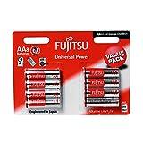 Fujitsu FB94990 - Pack de 8 baterías alcalinas Universal Power (LR6 FU, tamaño AA)
