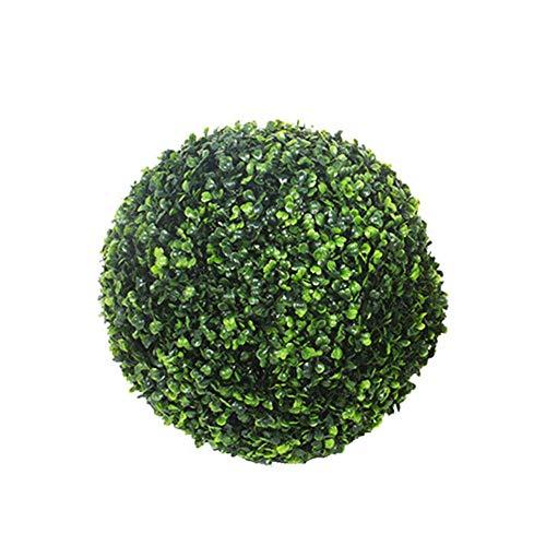 Hifuture simulato pianta finta erba sfera plastica palla erba decorazione di nozze sicuro e non tossico simulazione erba a sfera con diverse misure a scelta, 10 cm