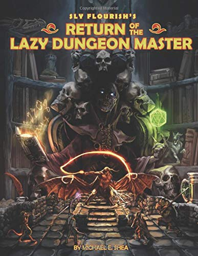 Return of the Lazy Dungeon Master por Michael Shea