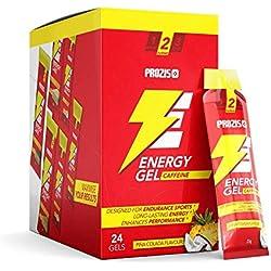 Prozis 24 x Energy Gel + Caffeine, Piña Colada - 25 g