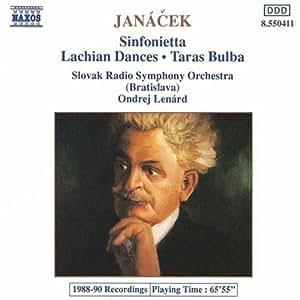 Sinfonietta/Taras Bulba/Lachia