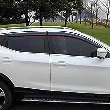 BeHave yd314w - Deflector de viento para coche, protector de lluvia para ventanas de coche