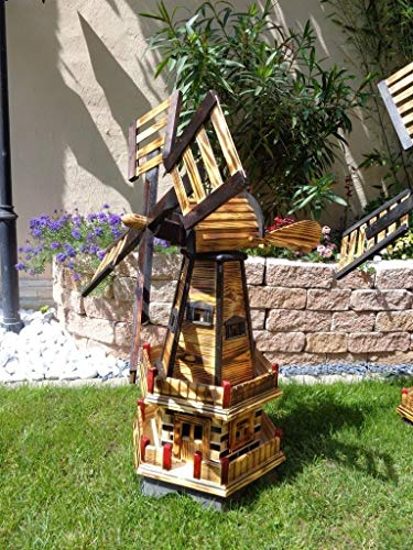 XXL windmühle, Gartenwindmühle 100 cm - 3