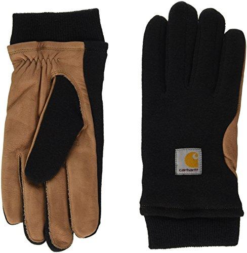 carhartt-foster-gloves-mouffles-mixte-noir-black-hamilton-brown-m