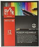 "CARAN d'ACHE - MUSEUM Aquarelle Buntstifte – ""Standard"" Sortiment mit 12 Farben"