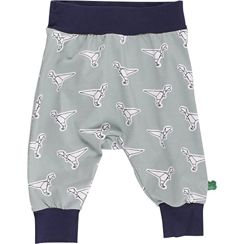 Fred's World by Green Cotton Baby - Jungen Hose Dino funky pants 1535036100, Gr. 104, Grün (Moss 016580601)