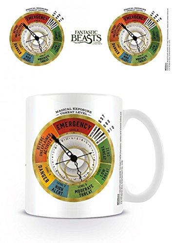Animali Fantastici E Dove Trovarli - Threat Level Tazza Da Caffè Mug (9 x 8cm)
