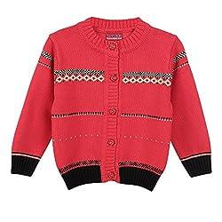 Lilliput Baby Girls Cardigans (8907264021234_Pink_18-24 Months)