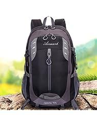Herren Rucksäcke,AIRMARK Wasserdichter Große Rucksack 40L Freizeit Wanderrucksack Perfekt zum Wandern Bergsteigen Reisen für Sport und Camping