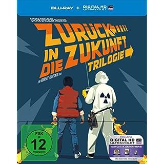 Zurück in die Zukunft - Trilogie. 30th Anniversary Edition - Steelbook [Blu-ray] [Limited Edition]