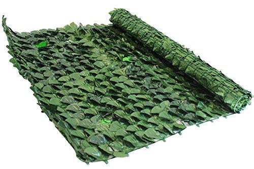 Siepe Artificiale Balcone - Recinzione - Ringhiera - Giardino In Rotolo da 1,5x3mt (4,5mq)
