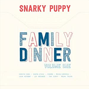 Snarky Puppy Family Dinner Vol. 1 CD + DVD