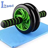 Izoo Ab Roller Perfect Abdominal and Stomach Exercise for Total Body Carver Fitness
