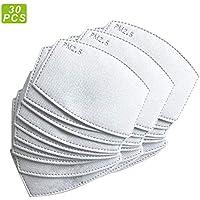 Recambios de filtros de carbón activado PM2.5 antiniebla, filtro de papel, con 5 capas exactas