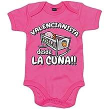 Body bebé Valencianista desde la cuna Valencia CF