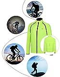 RUNALP Cyclisme Homme Vestes de Sport Running Coupe-vent Légère Zip Etanche et Anti-UV pour Cyclisme