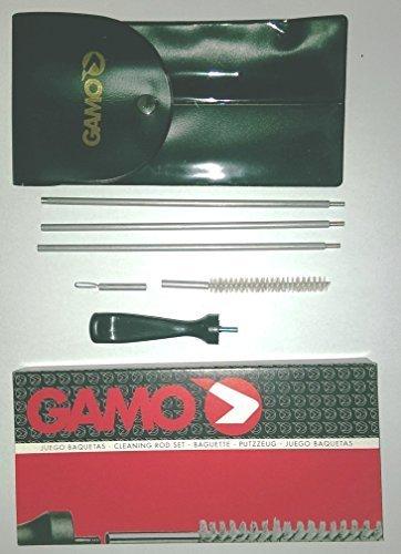 Gamo BSA Tige de Nettoyage Kit pour .177 carabine à air comprimé pistolet pistolet avec brosse et jag cloison dans un vinyle mallette de transport, de Agricole Cottage Brands