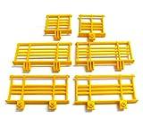 playmobil ® - 6 Geländer Gitter Zaun Absperrung Balkon Terasse