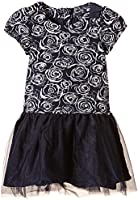 Pampolina Mädchen Kleid 2 Piece Set Dress 1/4 Sleeves And Alice Band