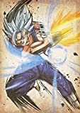 """Poster Dragon Ball """"Wanted"""" Vegetto SSB - A3 (42x30 cm)"""
