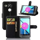 Coque Pour LG Nexus 5X Google 95street Slim Folio PU Cuir Debout Fonction Housse...